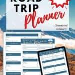 Best free road trip planner- printable pdf travel planner