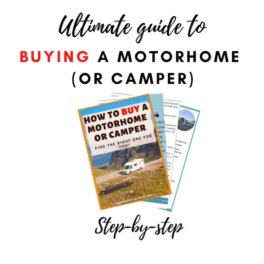 Buying a motorhome guide for beginners