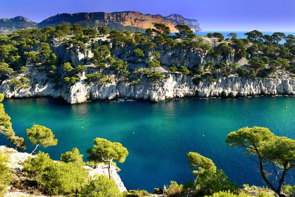 Best France road trip ideas and points of interest- Calanques National Park