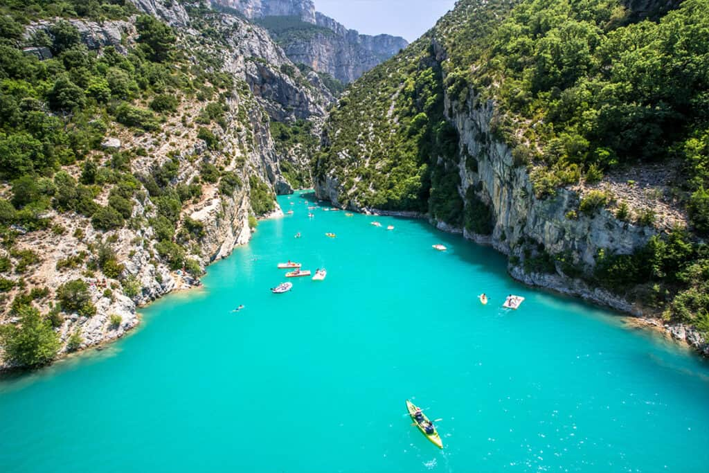 Best places to visit in France- Verdon Gorge