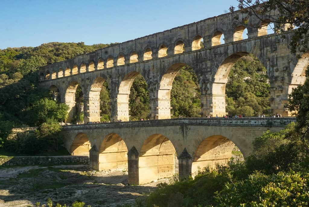 Pont du Gard- one of the most historic sites in France