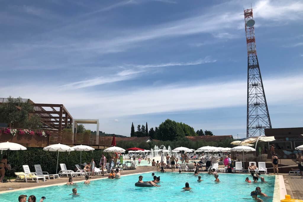 Florence motorhome  campsite in Italy- 5 of the best places to visit in Italy with a camper van or motorhome and the best campgrounds in Italy to stay at for a great camper van holiday in Italy