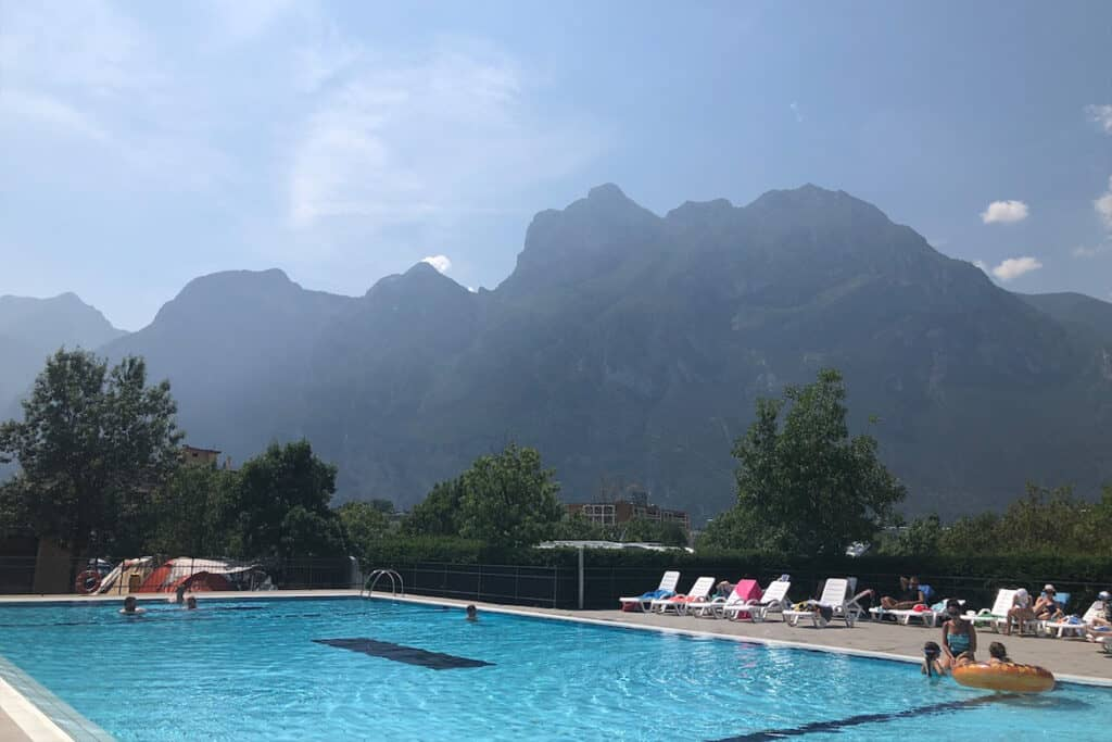 Lake Garda- Campervanning in Italy- 5 of the best places to visit in Italy with a camper van or motorhome and the best campgrounds in Italy to stay at for a great camper van holiday in Italy