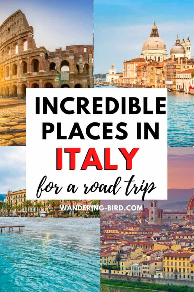 Best places in Italy for a road trip- campervanning in Italy tips