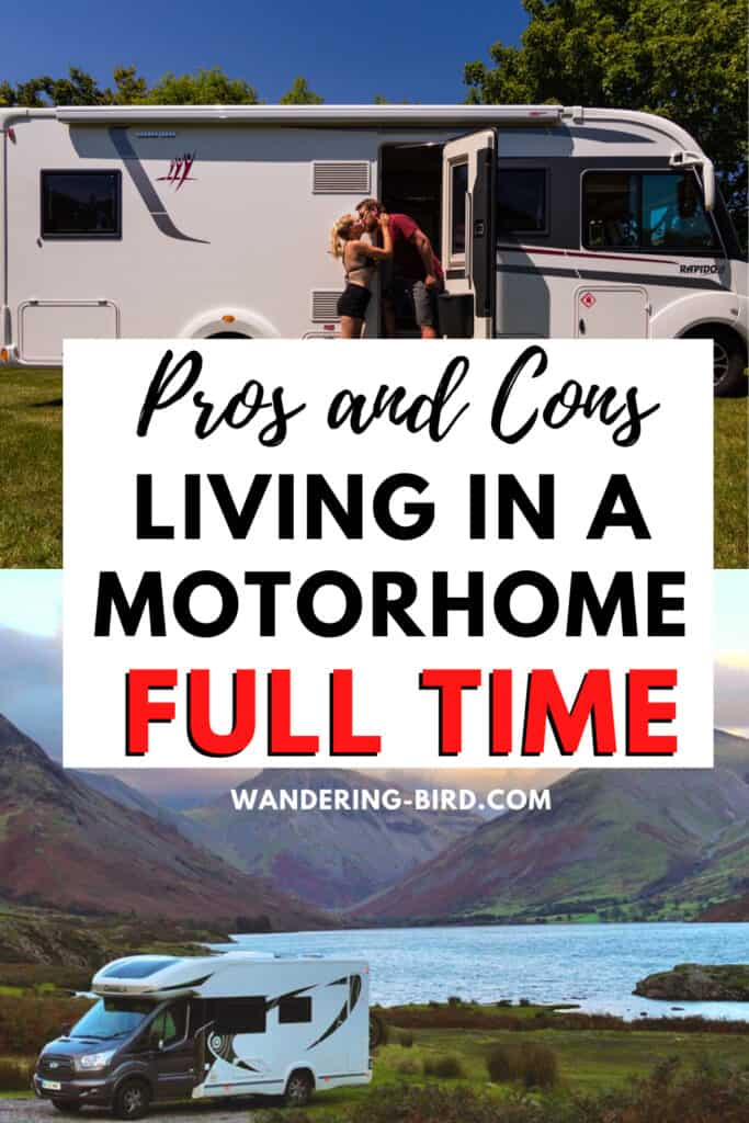 Living in a Motorhome fulltime- essential tips for UK motorhome living and permanent vanlife