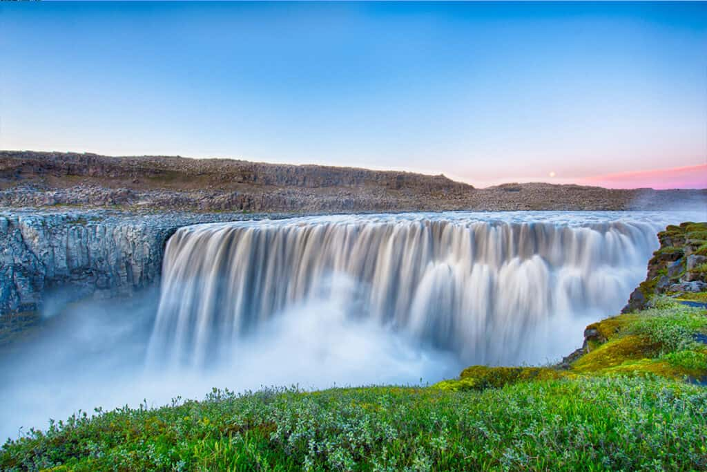 One of the most powerful and most beautiful waterfalls in Europe- Dettifoss