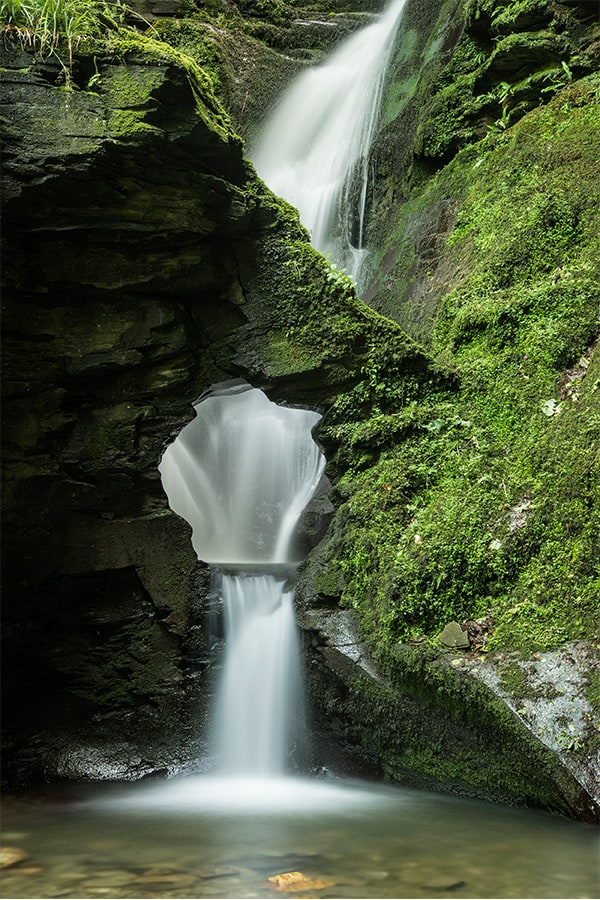 St Nectan's Glen- one of the best secret waterfalls in the UK