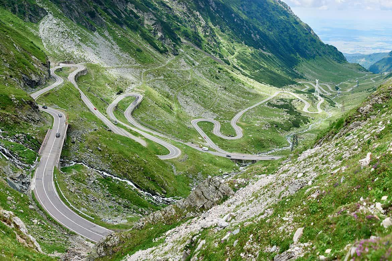 Transfăgărășan Road Romania Transfagarasen highway
