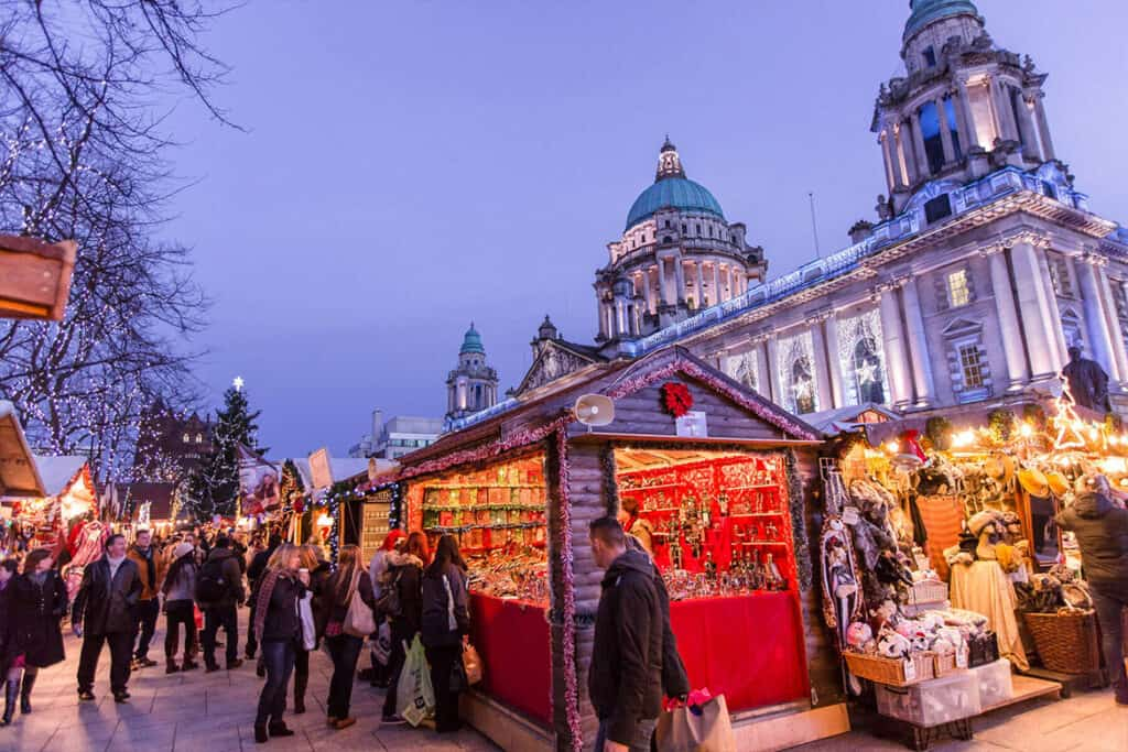 Belfast- one of the UKs best Christmas Markets