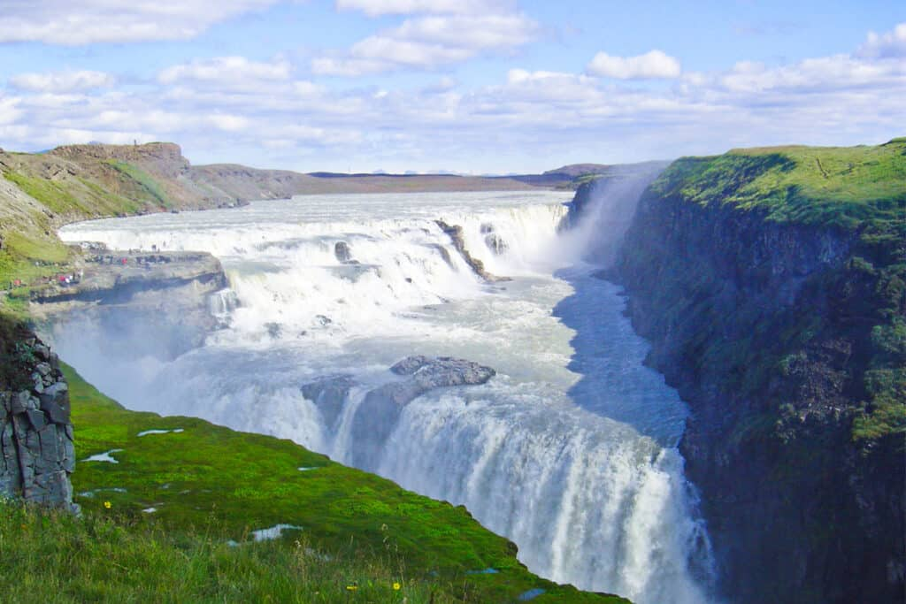 Gulfoss, one of the most powerful waterfalls in Europe.