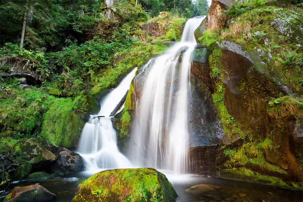 Triberg- one of Germany's highest waterfall