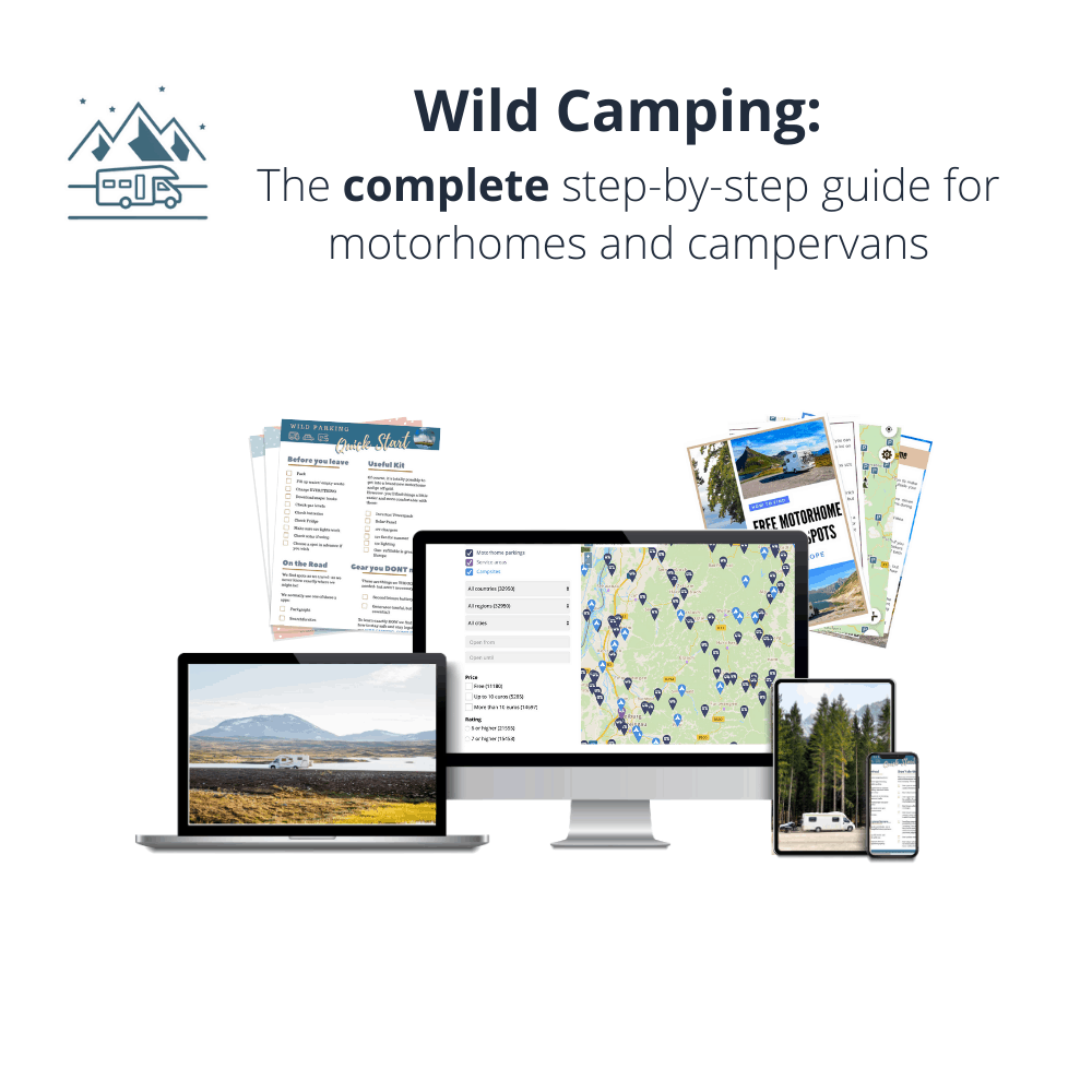 Wild Camping Motorhome guide and ebook from Wandering Bird Motorhome Travel Blog