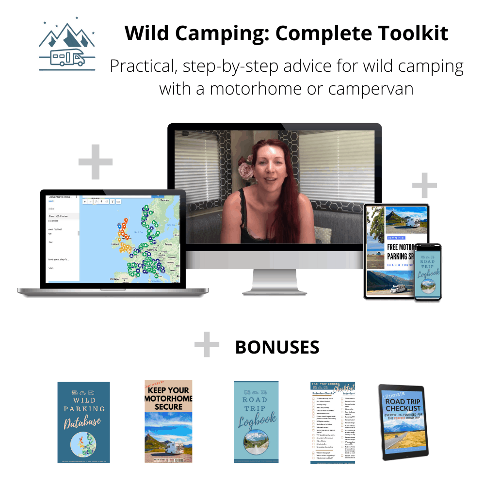 Wild Camping: Complete Toolkit for Motorhomes and campervans