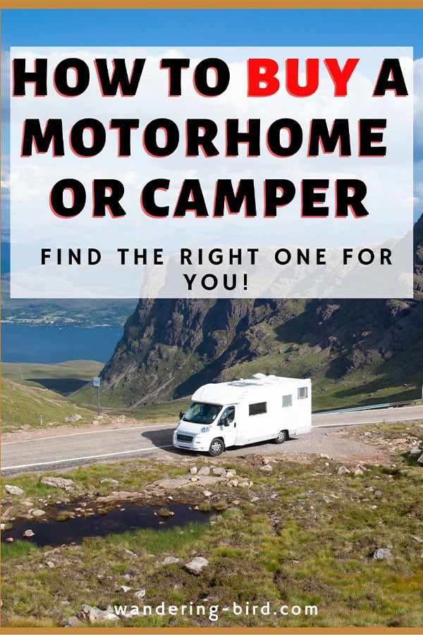 motorhome book- buy motorhome