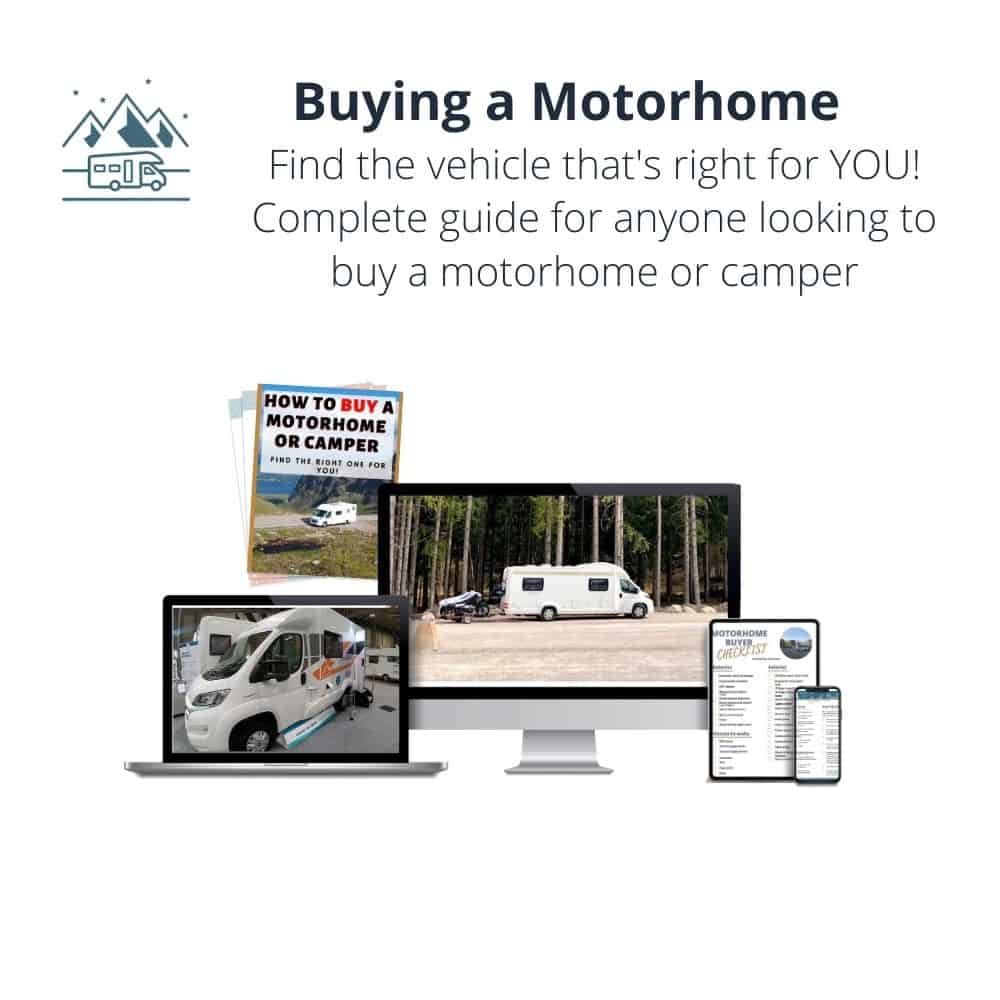 Buying a Motorhome guide and ebook from Wandering Bird Motorhome Travel Blog