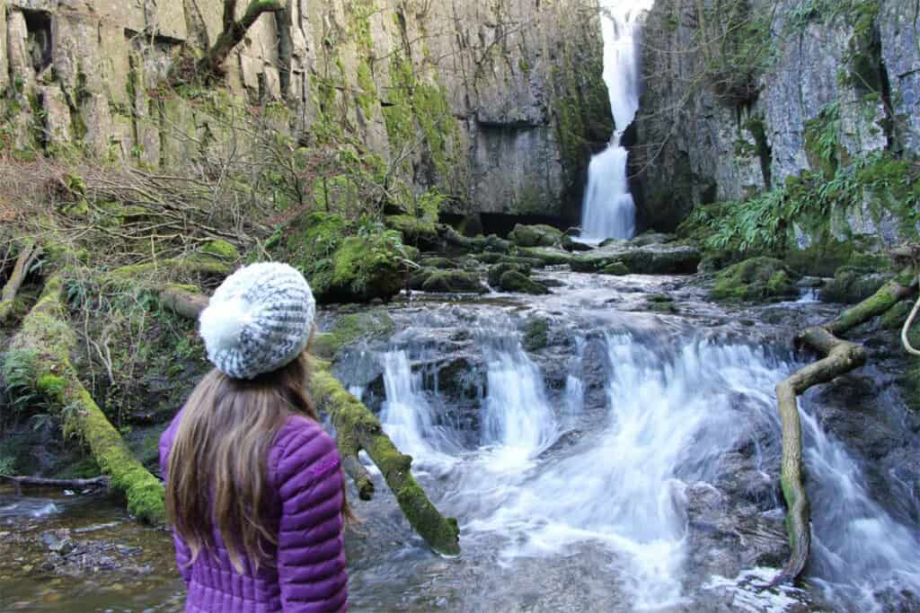 Catrigg force- a beautiful and secret waterfall in the UK
