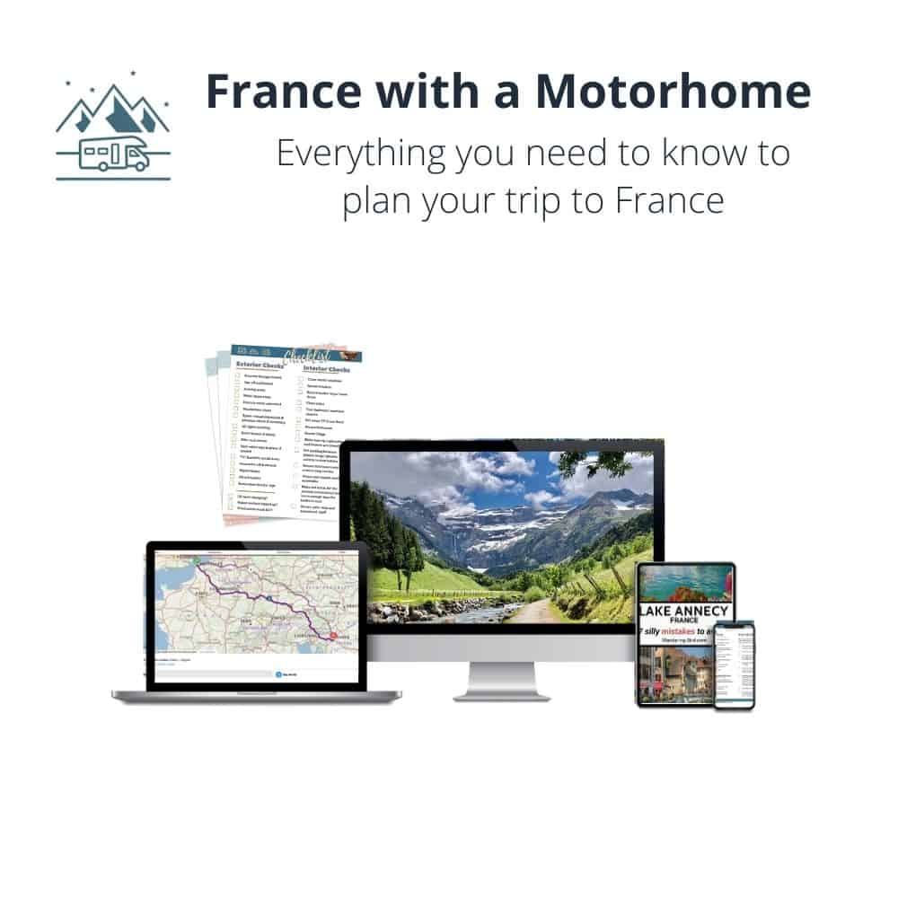 France motorhome guide and travel guide