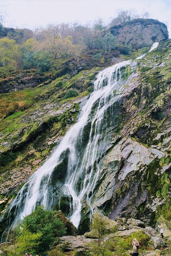 Powerscourt Watertall- Ireland's highest waterfall