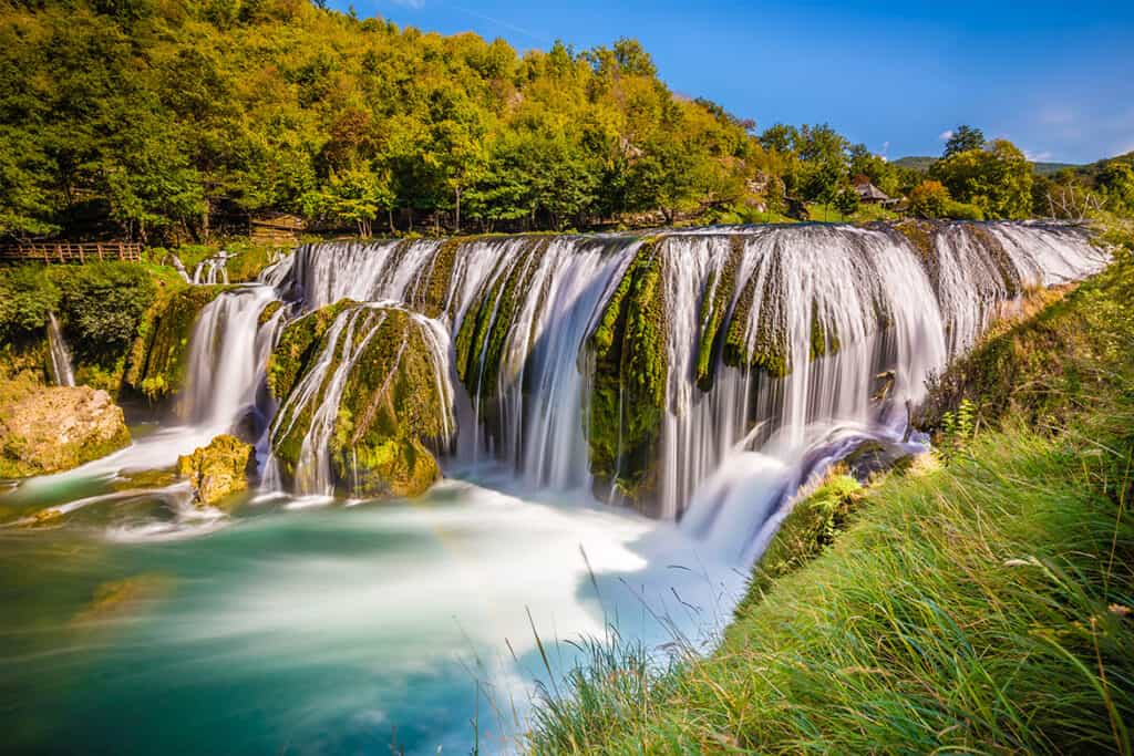 Strbacki Buk Falls- one of the most beautiful waterfalls in Europe