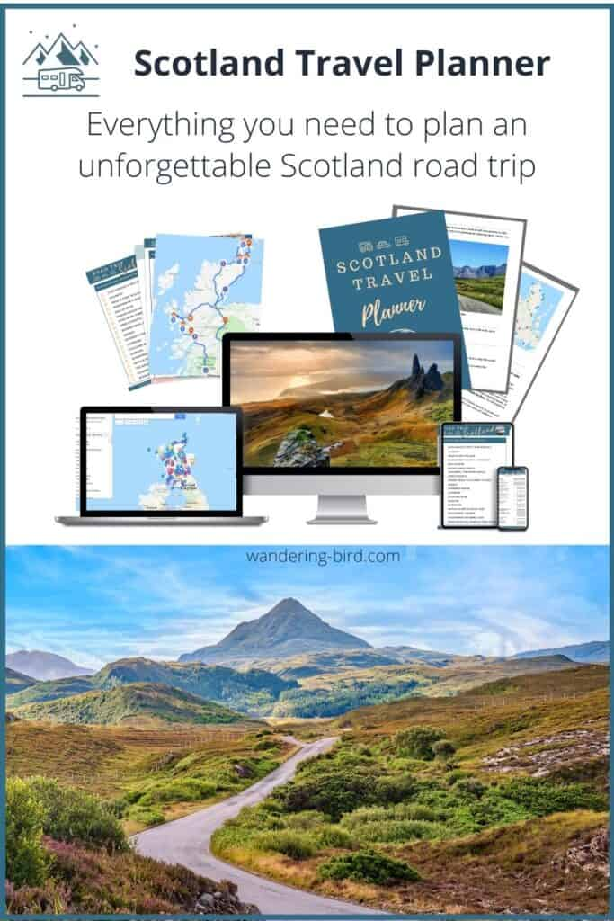 Scotland road trip travel planner route map guide