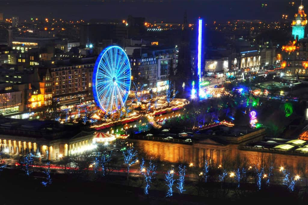 Edinburgh- one of the UK's best Christmas Markets