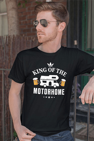 Motorhome T-shirt- great gift idea for motorhome owners