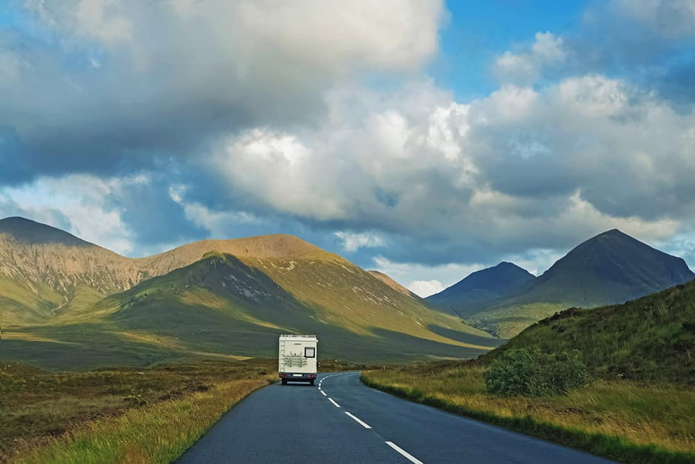 Motorhome holiday on the NC500