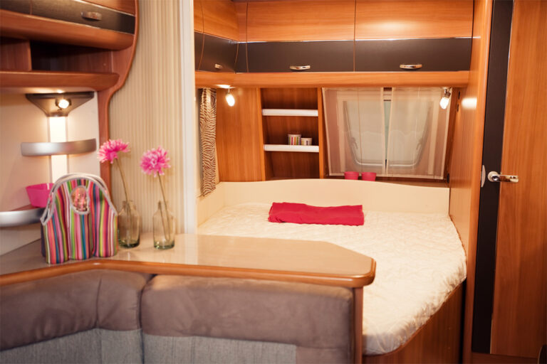 motorhome bedding- ideas and solutions for motorhomes, campervans, RVs and caravans