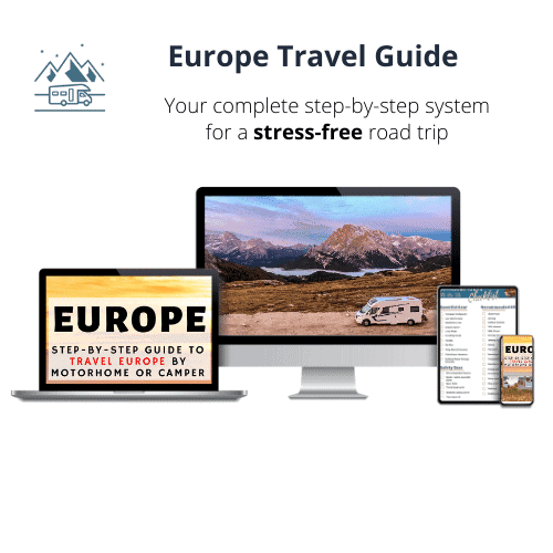 Europe motorhome guide and eBook- Wandering Bird Motorhome Travel blog