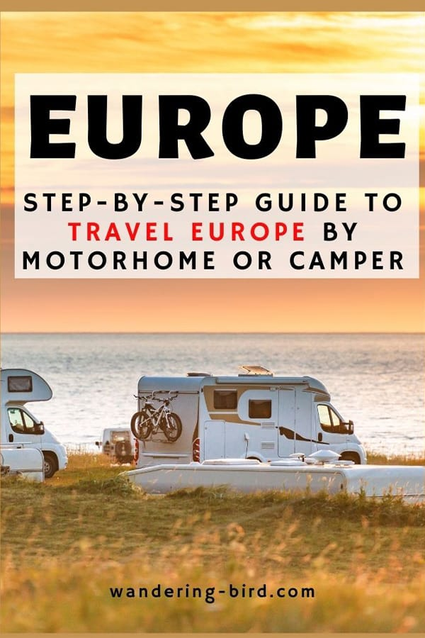 motorhome book Europe