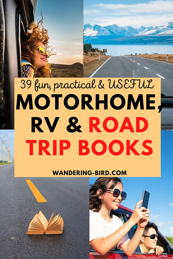 Looking for fun and practical RV, motorhome or campervan books? Whether you want step-by-step guides, maps or books to fuel your road trips, here they are! They make great gifts (or a treat for yourself!)