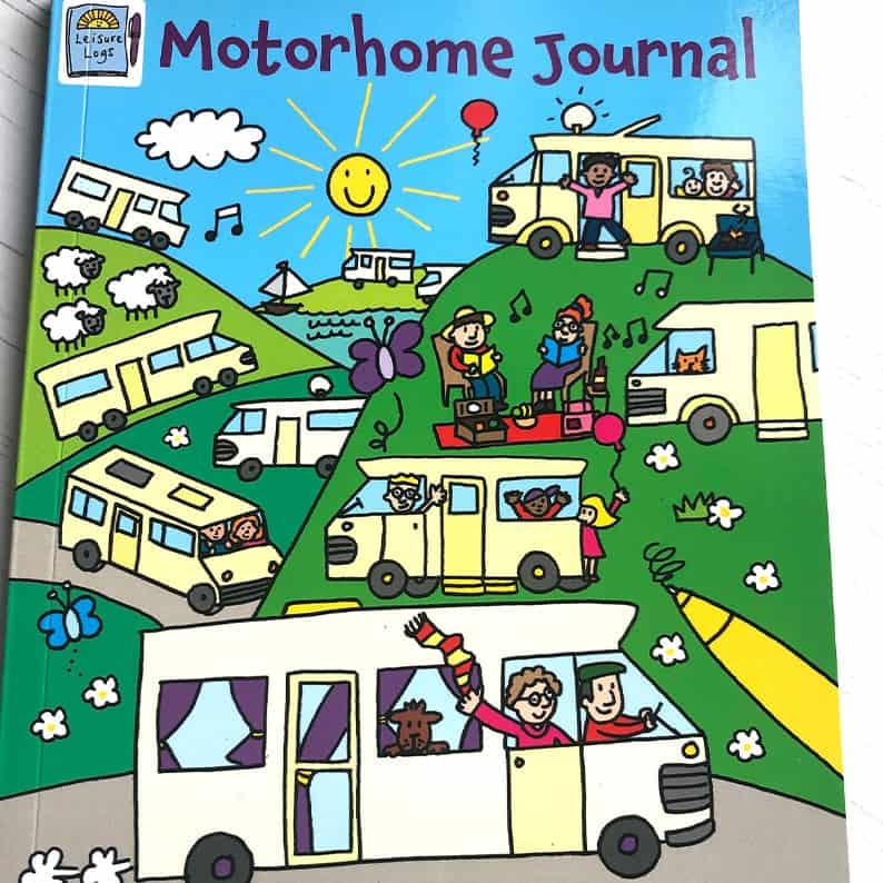 Motorhome journal kids travel logbook