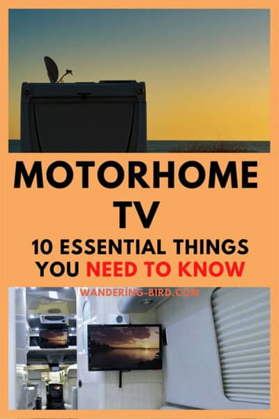 MOTORHOME TV REVIEWS! Want a TV for your motorhome, campervan or caravan? Unsure what you need for 12v, satellite or Europe travel? Find out...