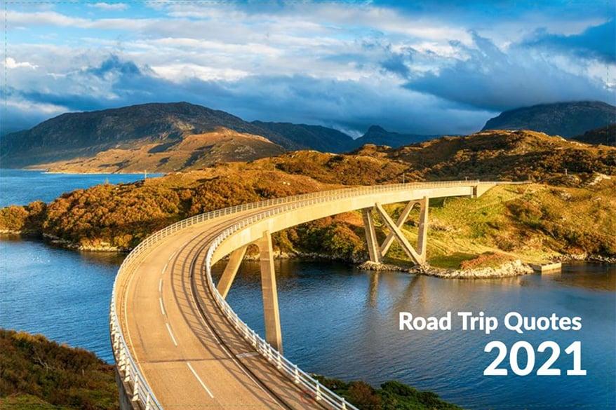 Road Trip Quotes Calendar 2021