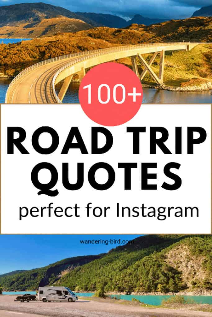 Looking for the best Travel & Road trip quotes? Want funny and inspirational road trip & travel quotes for journeys, family, friends and wanderlust?