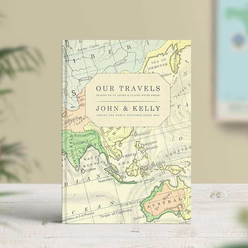 travel logbooks, motorhome journals, camper diaries and road trip logs