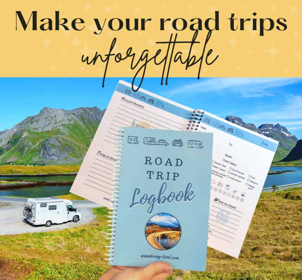 road trip journal logbook