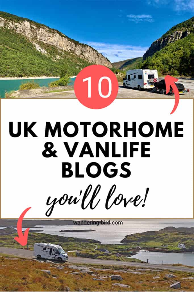 Looking for motorhome blogs and websites to follow? Want travel inspiration for UK and Europe road trips? Here are 10 of the best UK motorhome blogs you've probably never heard of!