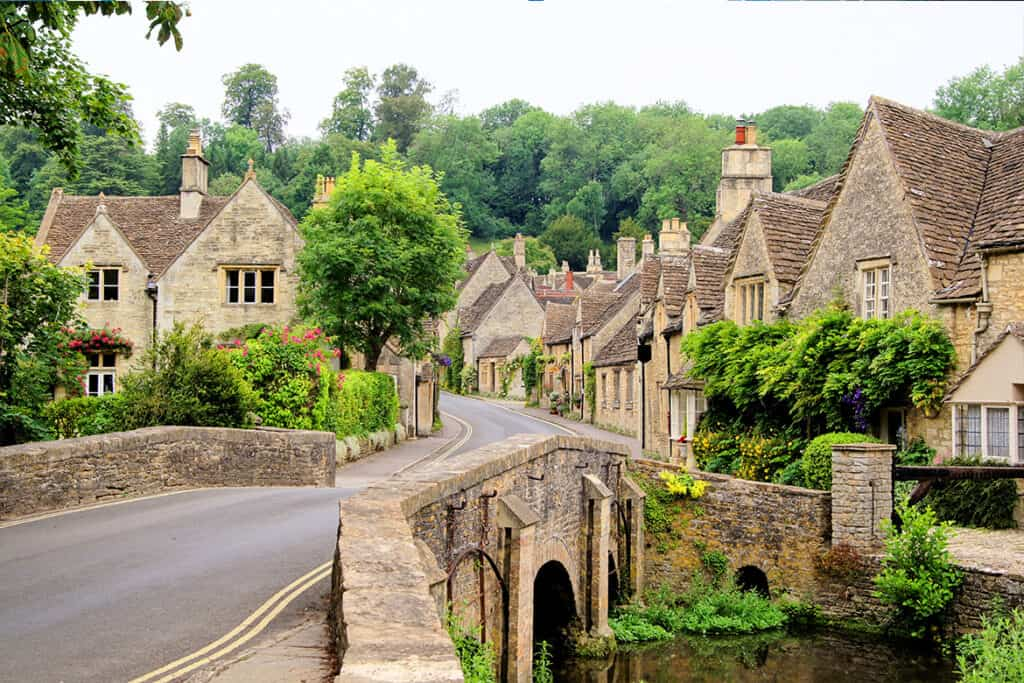 UK road trip- castle combe