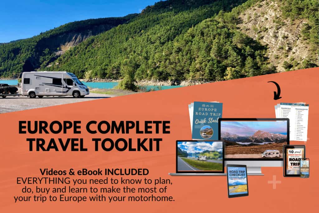 europe motorhome travel toolkit