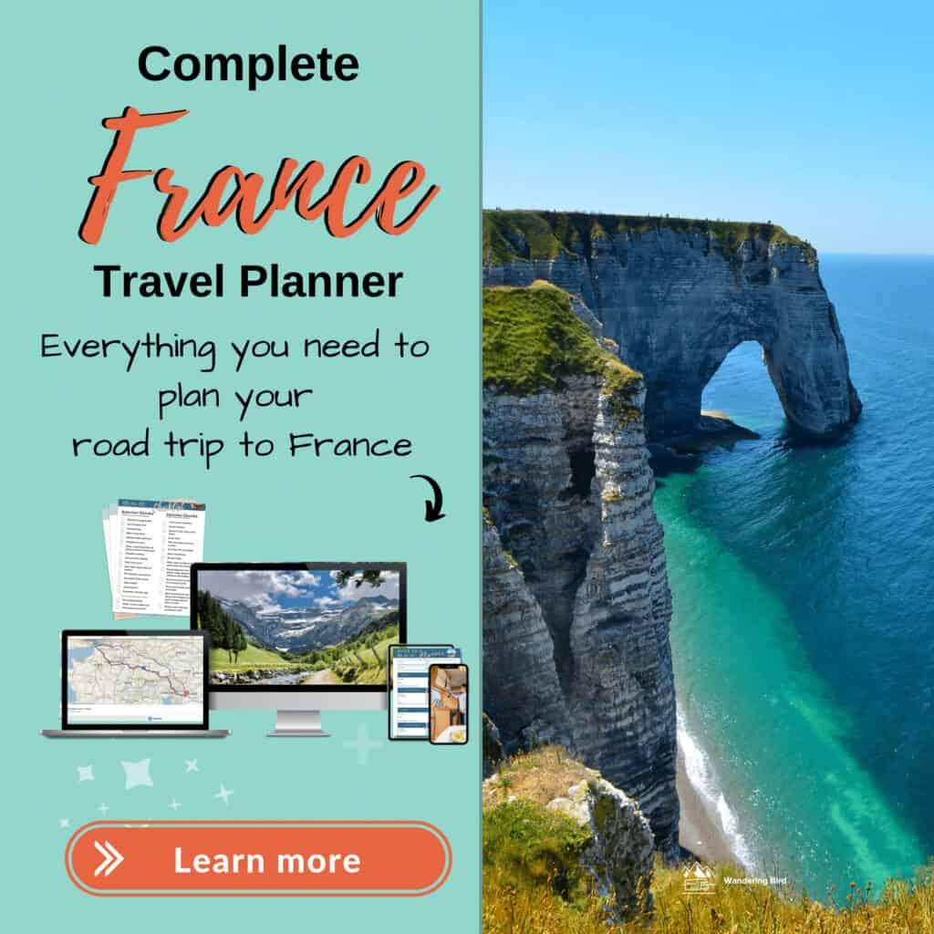 france motorhome travel planner