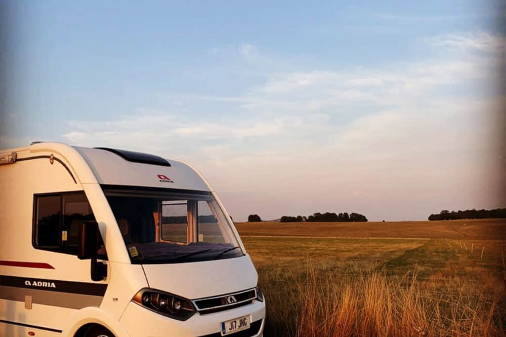 UK Motorhome blog to follow