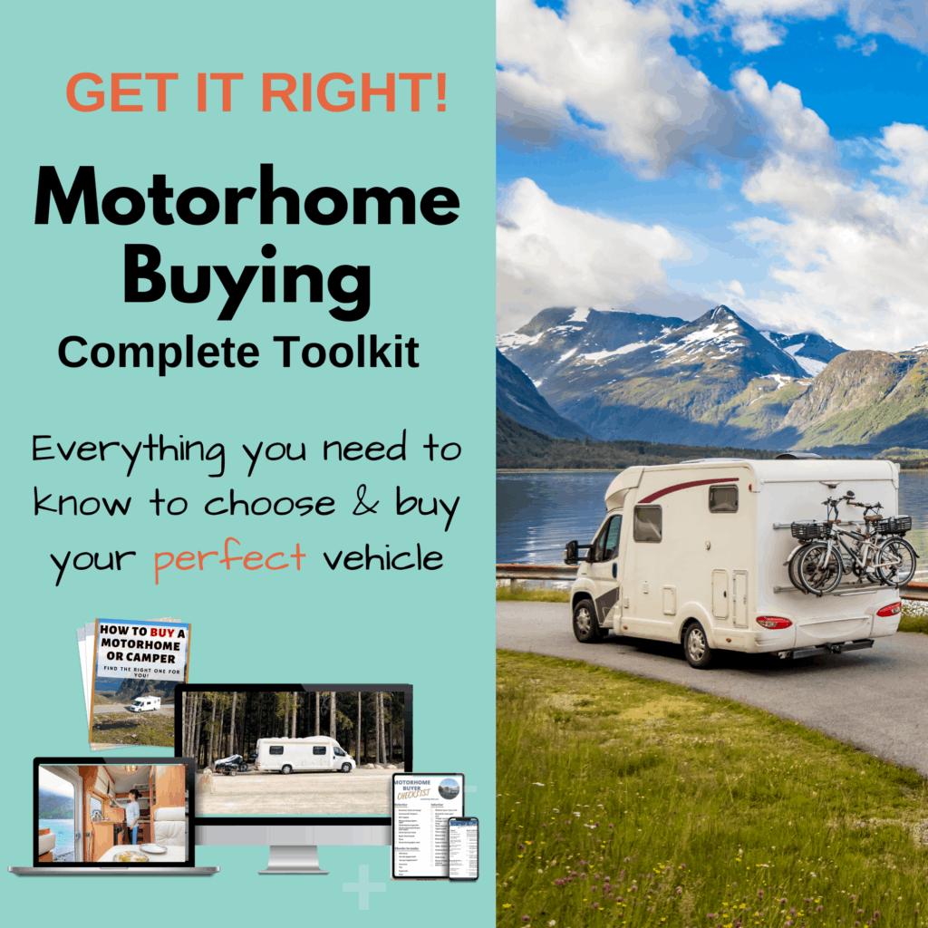 motorhome buying toolkit
