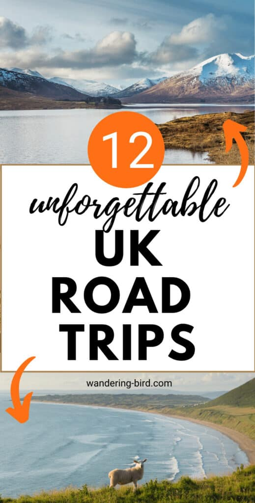 UK road trip ideas for staycations, couples, families, one week itineraries and more! UK travel tips and self-drive tours of Great Britain UK travel | UK road trip ideas
