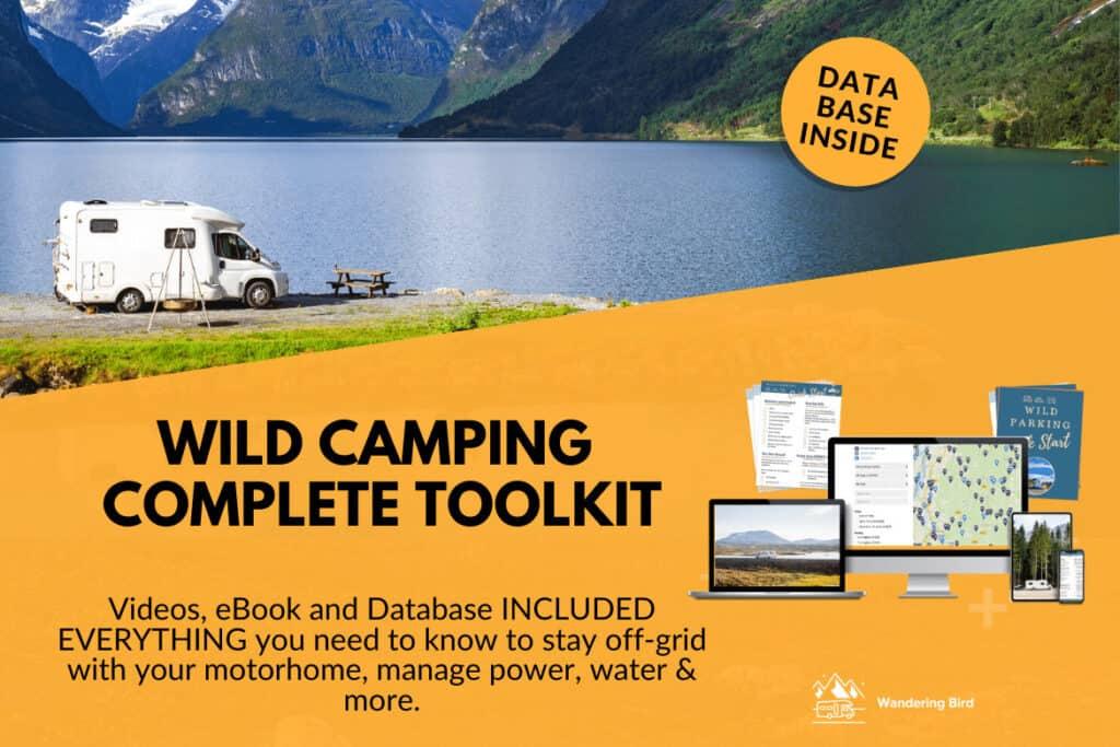 wild camping toolkit