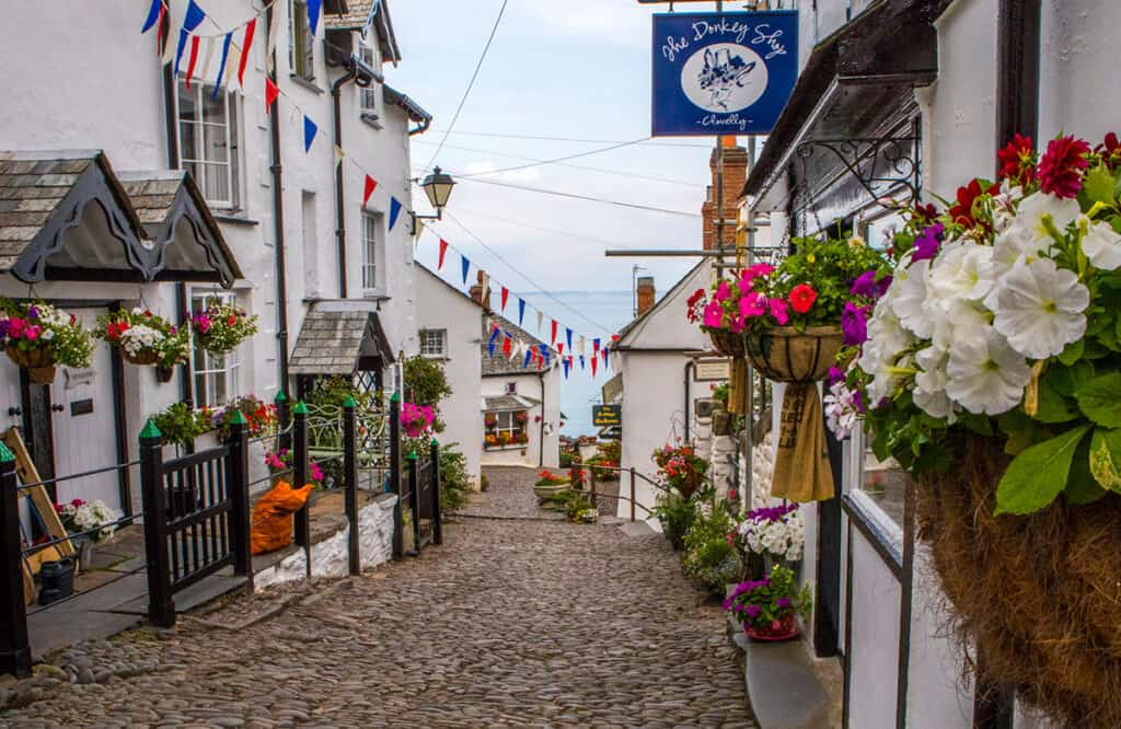 Clovelly- one of the best places to visit on a Devon road trip for a fun day out in a village