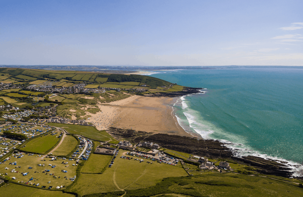 Croyde- one of the best places to visit on a Devon road trip for surfing