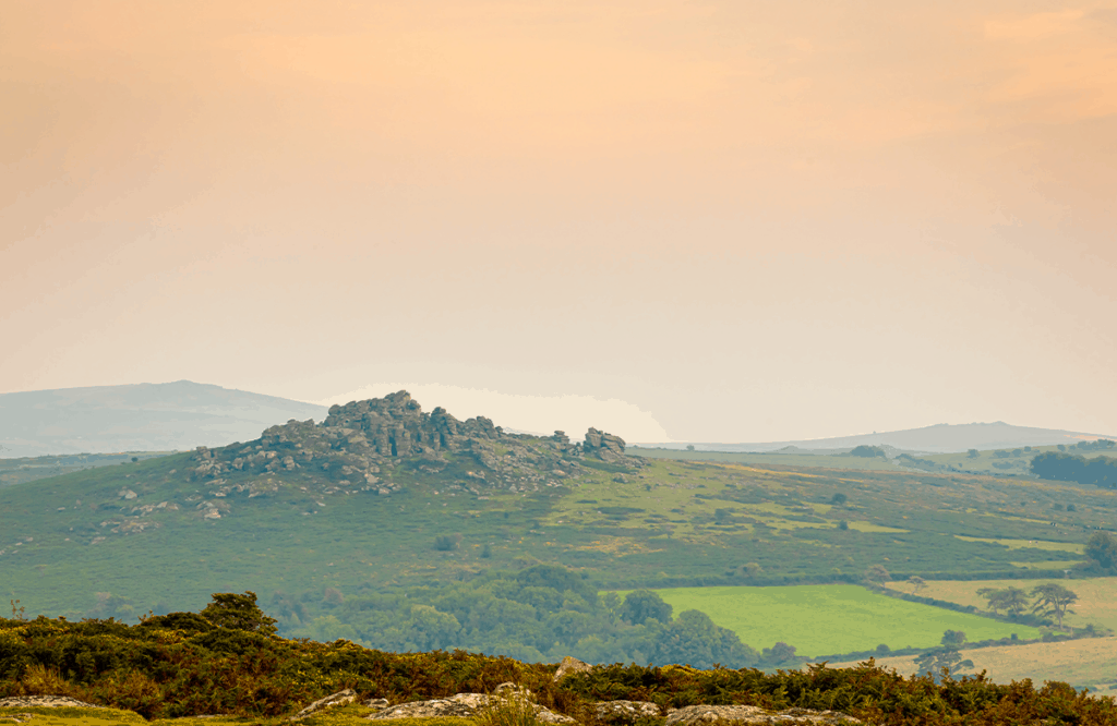 Dartmoor- one of the best places to visit on a Devon road trip for a fun day out.