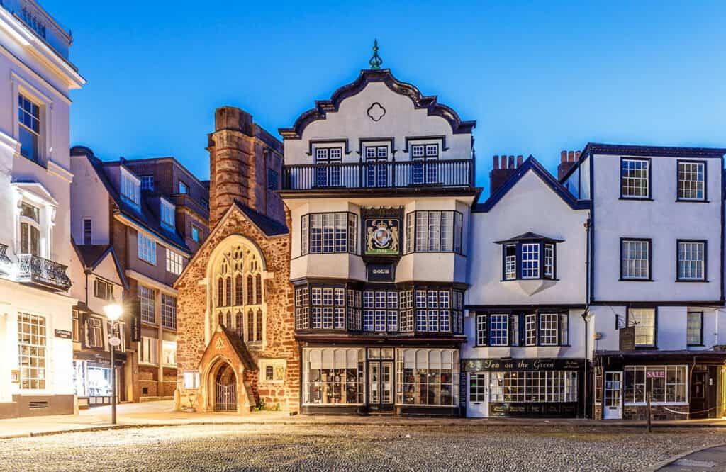 Exeter- visit on a Devon road trip