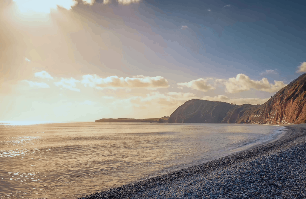 Exmouth- places to visit in Devon on a Devon road trip